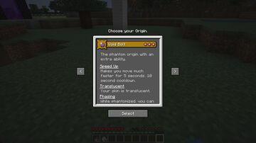 Void Bolt Origin Minecraft Data Pack
