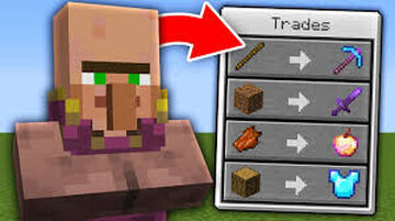Op Trading with village Minecraft Data Pack