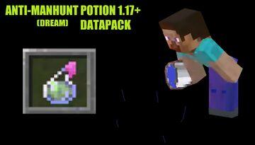 Anti-Dream Potion, Datapack Minecraft 1.17+ Minecraft Data Pack