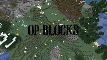 Minecraft, but it RAINS OP BLOCKS! Minecraft Data Pack
