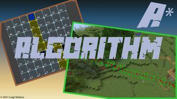 A* pathfinding 3D in Minecraft 1.17 Minecraft Data Pack