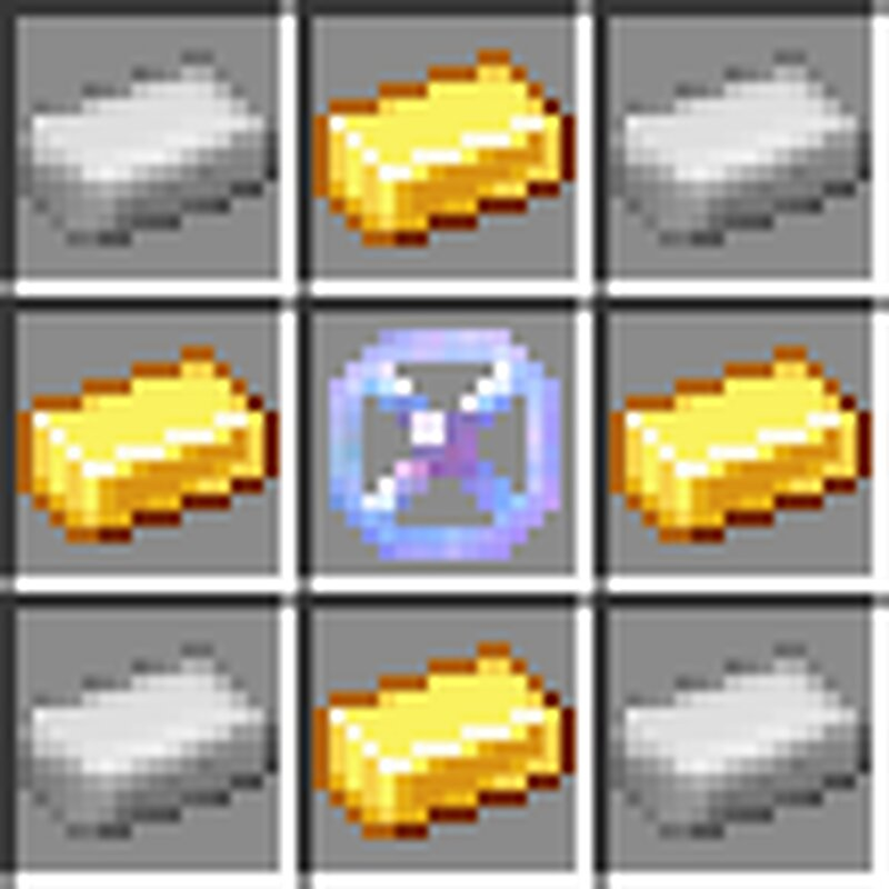 Gold synthesizer crafting recipe