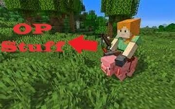 Riding a Pig is OP Minecraft Data Pack