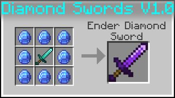 WASD Moar Diamond Swords [Datapack] Minecraft Data Pack