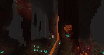 Cavernous Nether Minecraft Data Pack