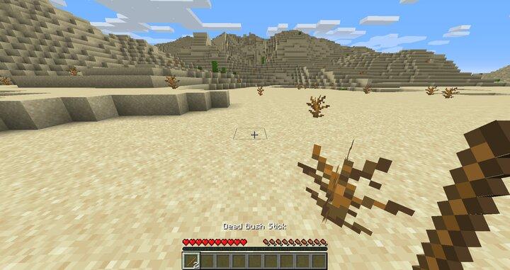 Dead Bush Stick