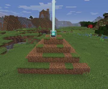 Dirt beacon Minecraft Data Pack