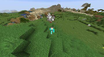 Minecraft BUT Tnt spawns above you   ChallengeCore Addon Minecraft Data Pack