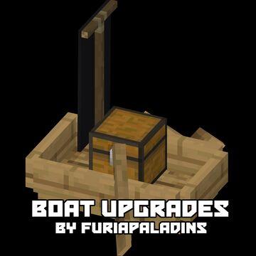Boat Upgrades Minecraft Data Pack