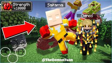 Saitama V3.2 (One Punch Man) Minecraft Data Pack