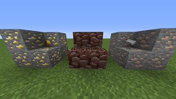 Ingot loot Minecraft Data Pack