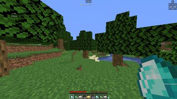 jumping gives all ores Minecraft Data Pack