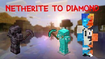 Netherite To Diamond Minecraft Data Pack