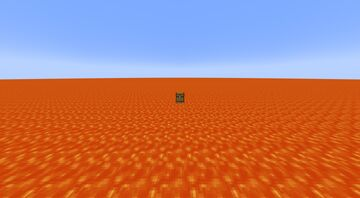 Lava super flat but with a bonus chest (for java) Minecraft Data Pack
