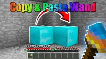 Copy Paste Wand Minecraft Data Pack