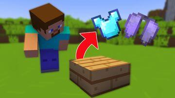 Minecraft but slabs drop op loot Minecraft Data Pack