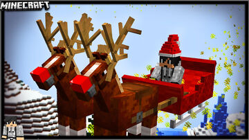 SANTA'S SLEIGH DATAPACK - JohnPaulInso Minecraft Data Pack