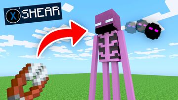 Minecraft BUT you can shear any MOB Minecraft Data Pack