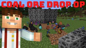 Minecraft But Coal Ore Drop OP Minecraft Data Pack