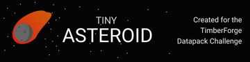 Tiny Asteroid Datapack Minecraft Data Pack