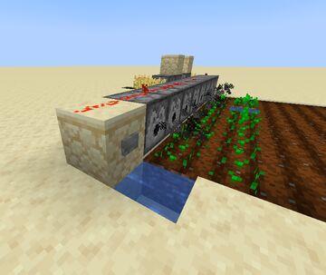 Dispenser Planting (DispPlant V1) Minecraft Data Pack