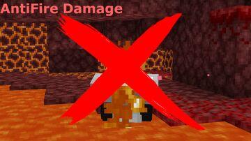AntiFire Damage Minecraft Data Pack
