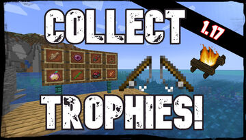Collectible Fishing Trophies! | Compatible with any fishing datapack or mod! | True Survival Datapack Minecraft Data Pack