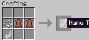 Craftable Saddle,  Nametag, Bell, Chain Armor and Horse Armour! Minecraft Data Pack