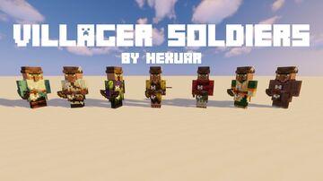 Villager Soldiers Minecraft Data Pack
