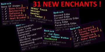 McR - Enchants Overhaul [1.15 - 1.17] - Adds 31 New Enchants ! (more to come -> ~100 ideas) Minecraft Data Pack