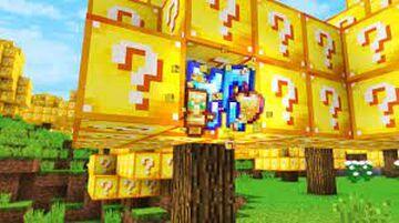 MINECRAFT BUT TREES GROW LUCKY BLOCK Minecraft Data Pack