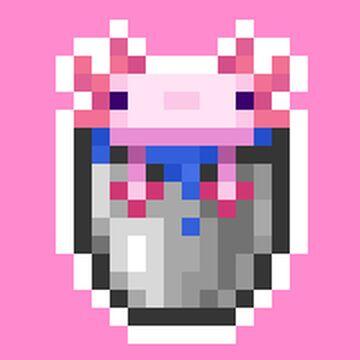 Axolotl buckets Loot Minecraft Data Pack