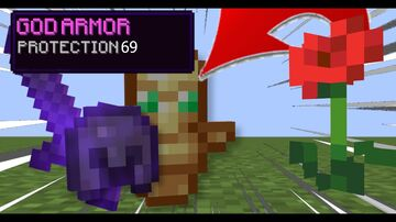 Minecraft, But Flowers Drop Extremely OP Items... Minecraft Data Pack