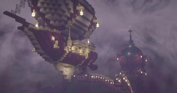 """End City for """"Better End"""" - Forge port Minecraft Data Pack"""
