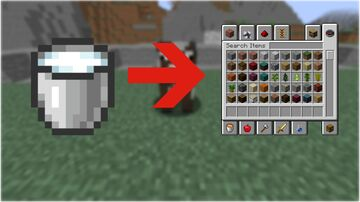 Minecraft but drinking milk gives you creative mode Minecraft Data Pack