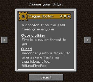 plague doctor Minecraft Data Pack