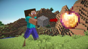 Gravel Drops OP Loot Minecraft Data Pack