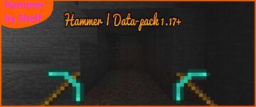 Hammer   Data-pack 1.17+ Minecraft Data Pack
