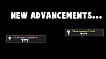 New Advancements 1.16+ Minecraft Data Pack