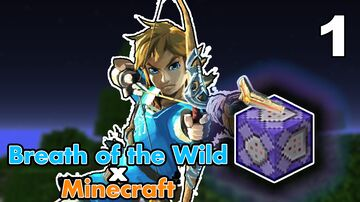 Breath of the Wild in Minecraft - RUNES, Champion Abilities, Elemental Arrows, Bullet Time, and More! Minecraft Data Pack