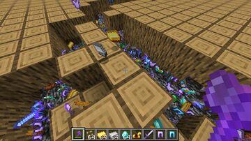 Oak Logs drop OP Loot Minecraft Data Pack