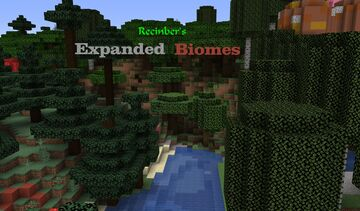 Recinber's Expanded Biomes: Lite Minecraft Data Pack
