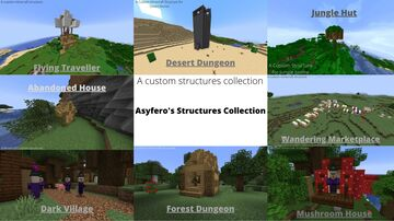 Asyfero's Structures Collection Minecraft Data Pack