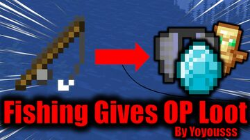 Minecraft But Fishing Gives End City Loot Minecraft Data Pack