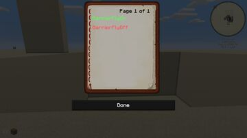 BarrierFly Minecraft Data Pack