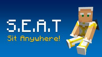 S.E.A.T  |  Sit Anywhere! Minecraft Data Pack