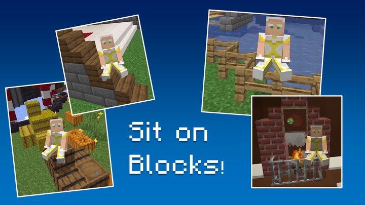 Promo Art 2 - Sit on any block!