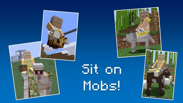 Promo Art 3 - Sit on any Mob!