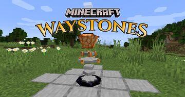 Minecraft: Waystones [Make your own teleport networks!] Minecraft Data Pack