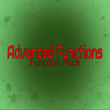 Advanced Function Pack Minecraft Data Pack